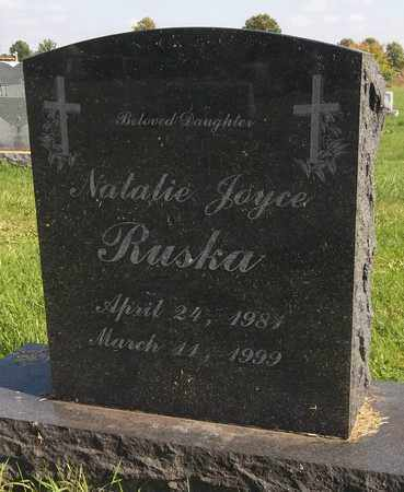 RUSKA, NATALIE JOYCE - Trumbull County, Ohio | NATALIE JOYCE RUSKA - Ohio Gravestone Photos