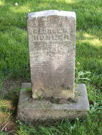 RUSLER, GEORGE H. - Trumbull County, Ohio | GEORGE H. RUSLER - Ohio Gravestone Photos
