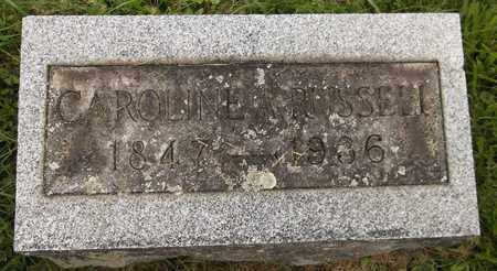 RUSSELL, CAROLINE - Trumbull County, Ohio | CAROLINE RUSSELL - Ohio Gravestone Photos