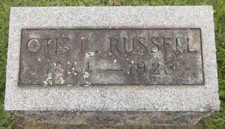 RUSSELL, OTIS R. - Trumbull County, Ohio | OTIS R. RUSSELL - Ohio Gravestone Photos
