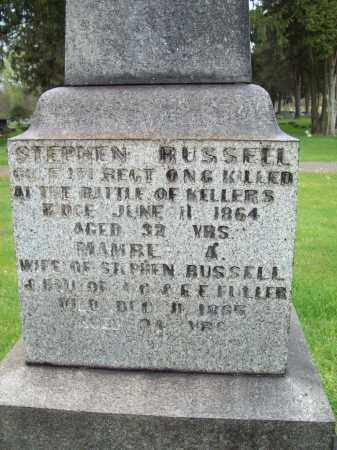 RUSSELL, STEPHEN - Trumbull County, Ohio | STEPHEN RUSSELL - Ohio Gravestone Photos