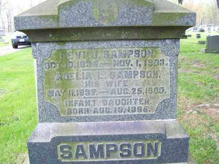 SAMPSON, LEVI J. - Trumbull County, Ohio | LEVI J. SAMPSON - Ohio Gravestone Photos