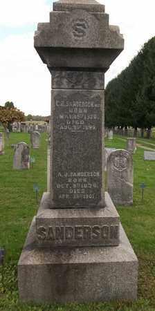 SANDERSON, C. ROLLIN - Trumbull County, Ohio | C. ROLLIN SANDERSON - Ohio Gravestone Photos