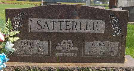 SATTERLEE, FRED M. - Trumbull County, Ohio | FRED M. SATTERLEE - Ohio Gravestone Photos