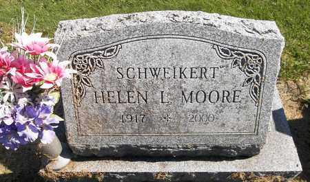 MOORE SCHWEIKERT, HELEN L. - Trumbull County, Ohio | HELEN L. MOORE SCHWEIKERT - Ohio Gravestone Photos