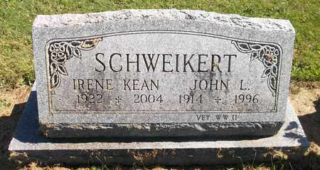 KEAN SCHWEIKERT, IRENE - Trumbull County, Ohio | IRENE KEAN SCHWEIKERT - Ohio Gravestone Photos