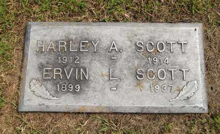 SCOTT, ERWIN L. - Trumbull County, Ohio | ERWIN L. SCOTT - Ohio Gravestone Photos
