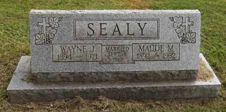 SEALY, MAUDE M. - Trumbull County, Ohio | MAUDE M. SEALY - Ohio Gravestone Photos
