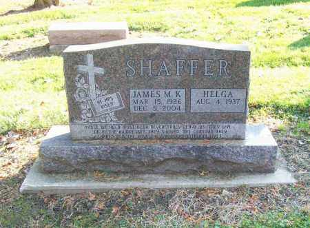 SHAFFER, HELGA - Trumbull County, Ohio | HELGA SHAFFER - Ohio Gravestone Photos
