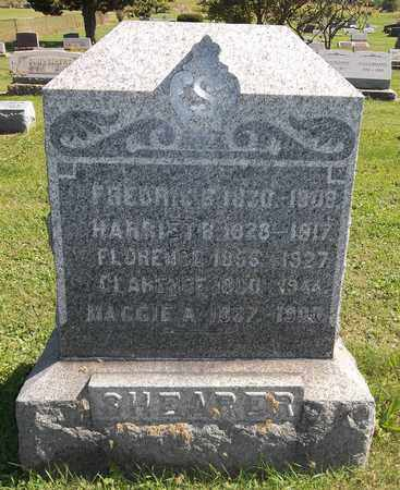 SHEARER, HARRIET B. - Trumbull County, Ohio | HARRIET B. SHEARER - Ohio Gravestone Photos