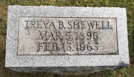 SHEWELL, TREVA B. - Trumbull County, Ohio | TREVA B. SHEWELL - Ohio Gravestone Photos