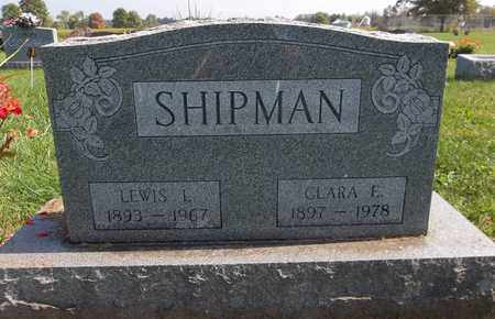 SHIPMAN, LEWIS L. - Trumbull County, Ohio | LEWIS L. SHIPMAN - Ohio Gravestone Photos