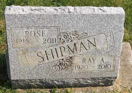 SHIPMAN, ROSE - Trumbull County, Ohio | ROSE SHIPMAN - Ohio Gravestone Photos
