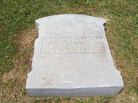SILVERNAIL, HARLEY - Trumbull County, Ohio | HARLEY SILVERNAIL - Ohio Gravestone Photos