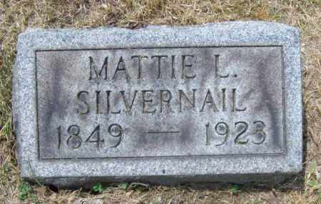 HATCH SILVERNAIL, MATTIE L. - Trumbull County, Ohio | MATTIE L. HATCH SILVERNAIL - Ohio Gravestone Photos