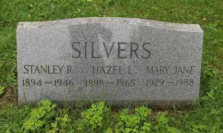 SILVERS, MARY JANE - Trumbull County, Ohio | MARY JANE SILVERS - Ohio Gravestone Photos