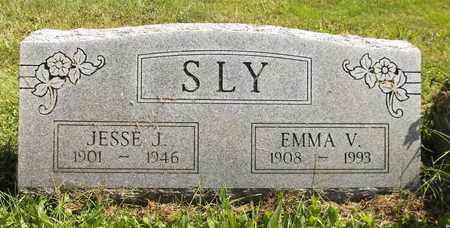SLY, EMMA V. - Trumbull County, Ohio | EMMA V. SLY - Ohio Gravestone Photos