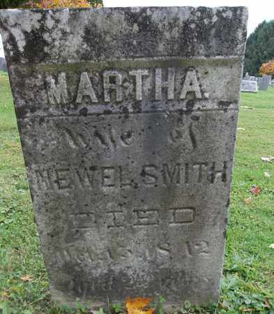 SMITH, MARTHA - Trumbull County, Ohio | MARTHA SMITH - Ohio Gravestone Photos