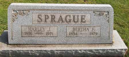 SPRAGUE, BERTHA E. - Trumbull County, Ohio | BERTHA E. SPRAGUE - Ohio Gravestone Photos