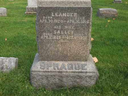 SPRAGUE, SALLEY - Trumbull County, Ohio | SALLEY SPRAGUE - Ohio Gravestone Photos