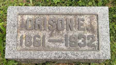 SPRAGUE, ORISON E. - Trumbull County, Ohio | ORISON E. SPRAGUE - Ohio Gravestone Photos