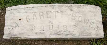 BOWER SQUIBB, MARGARETT - Trumbull County, Ohio | MARGARETT BOWER SQUIBB - Ohio Gravestone Photos