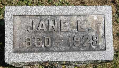 SQUIBBS, JANE E. - Trumbull County, Ohio | JANE E. SQUIBBS - Ohio Gravestone Photos
