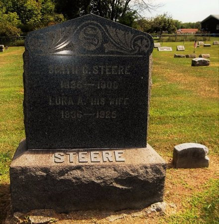 STEERE, LURA A. - Trumbull County, Ohio | LURA A. STEERE - Ohio Gravestone Photos