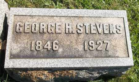 STEVENS, GEORGE H. - Trumbull County, Ohio | GEORGE H. STEVENS - Ohio Gravestone Photos