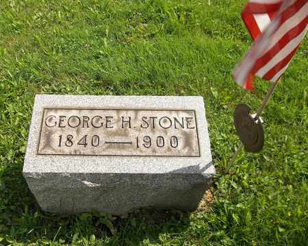 STONE, GEORGE H. - Trumbull County, Ohio | GEORGE H. STONE - Ohio Gravestone Photos