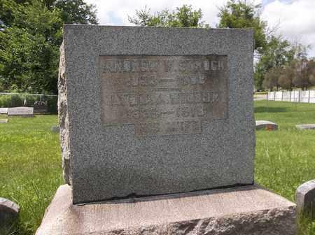 WILBUR STROCK, LYDIA ANN - Trumbull County, Ohio | LYDIA ANN WILBUR STROCK - Ohio Gravestone Photos