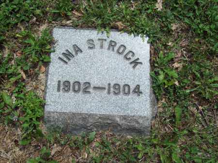 STROCK, INA - Trumbull County, Ohio | INA STROCK - Ohio Gravestone Photos