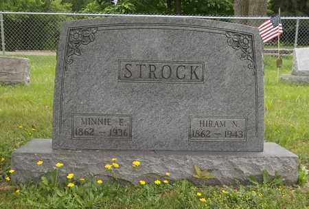 STROCK, MINNIE E. - Trumbull County, Ohio | MINNIE E. STROCK - Ohio Gravestone Photos