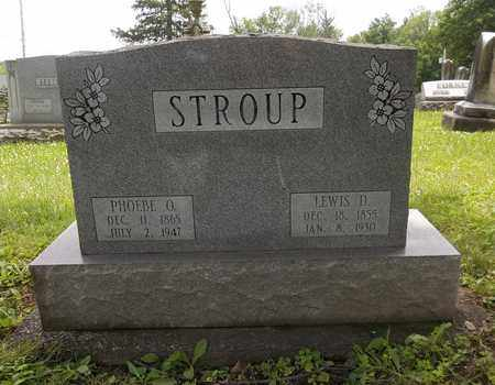STROUP, LEWIS D. - Trumbull County, Ohio | LEWIS D. STROUP - Ohio Gravestone Photos