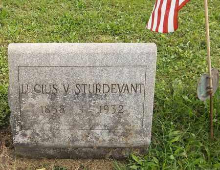 STURDEVANT, LUCIUS V. - Trumbull County, Ohio | LUCIUS V. STURDEVANT - Ohio Gravestone Photos