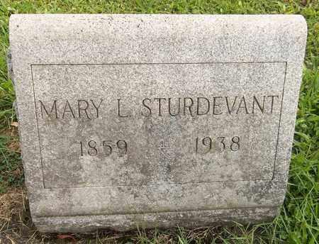 STURDEVANT, MARY L. - Trumbull County, Ohio | MARY L. STURDEVANT - Ohio Gravestone Photos