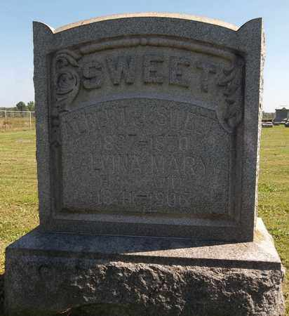 SWEET, ALVINA MARY - Trumbull County, Ohio | ALVINA MARY SWEET - Ohio Gravestone Photos