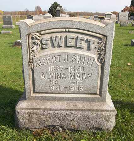 SWEET, ALBERT J. - Trumbull County, Ohio | ALBERT J. SWEET - Ohio Gravestone Photos