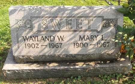 SWEET, MARY L. - Trumbull County, Ohio | MARY L. SWEET - Ohio Gravestone Photos