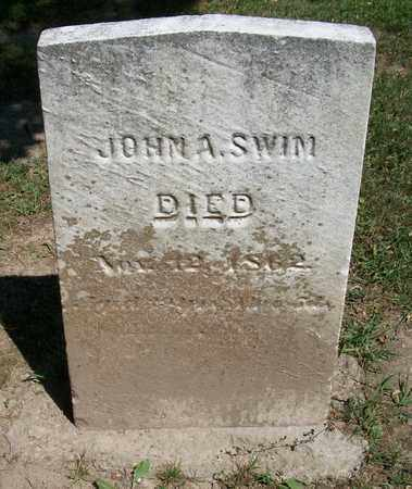 SWIM, JOHN - Trumbull County, Ohio | JOHN SWIM - Ohio Gravestone Photos