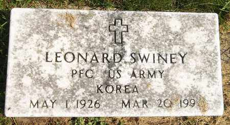 SWINEY, LEONARD - Trumbull County, Ohio | LEONARD SWINEY - Ohio Gravestone Photos