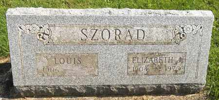 SZORAD, LOUIS - Trumbull County, Ohio | LOUIS SZORAD - Ohio Gravestone Photos