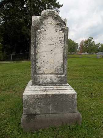 TAFT, SARAH J. - Trumbull County, Ohio | SARAH J. TAFT - Ohio Gravestone Photos