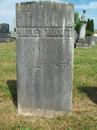 TALCOTT, HARVEY - Trumbull County, Ohio | HARVEY TALCOTT - Ohio Gravestone Photos