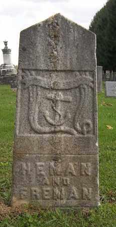 TALCOTT, FREMAN - Trumbull County, Ohio | FREMAN TALCOTT - Ohio Gravestone Photos
