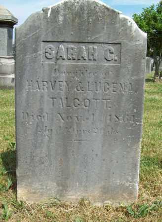 TALCOTT, SARAH G. - Trumbull County, Ohio | SARAH G. TALCOTT - Ohio Gravestone Photos