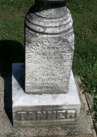TANNER, LORENZO J. - Trumbull County, Ohio | LORENZO J. TANNER - Ohio Gravestone Photos