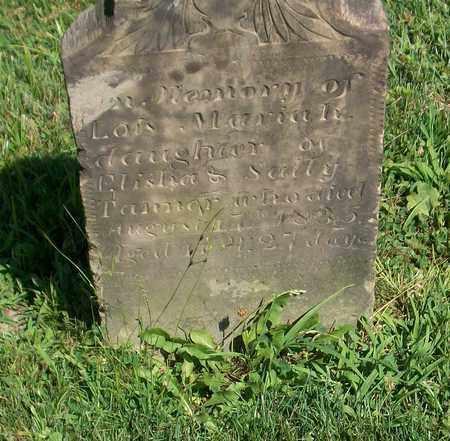 TANNER, LOIS MARIAH - Trumbull County, Ohio | LOIS MARIAH TANNER - Ohio Gravestone Photos