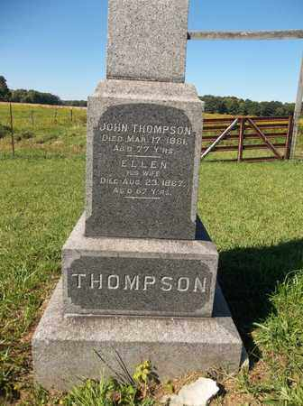 THOMPSON, JOHN - Trumbull County, Ohio | JOHN THOMPSON - Ohio Gravestone Photos