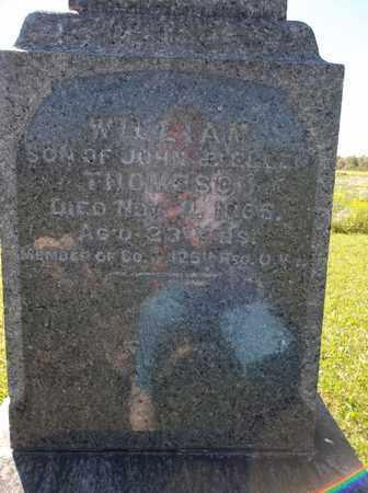 THOMPSON, WILLIAM - Trumbull County, Ohio   WILLIAM THOMPSON - Ohio Gravestone Photos